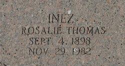 Mrs Inez Rosalie <I>Thomas</I> Alquist