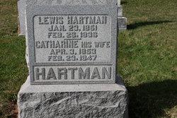 Catharine <I>Knaub</I> Hartman