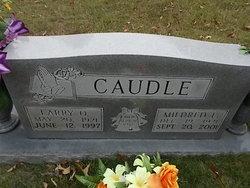 Mildred Lavern <I>Holland</I> Caudle