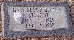 Mary O'Bryan <I>Huggins</I> Stright