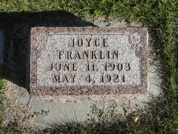Joyce Dickman Franklin