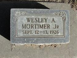 Wesley A Mortimer