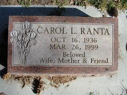 Carol Lorraine <I>McCracken</I> Ranta
