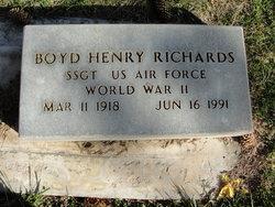 Boyd Henry Richards