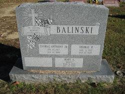 "Mary Ellen ""Molly"" <I>Matson</I> Balinski"