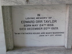 Edward Orr Taylor