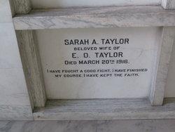 Sarah A. Taylor