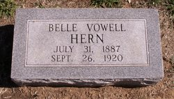 Mary Belle <I>Vowell</I> Hern