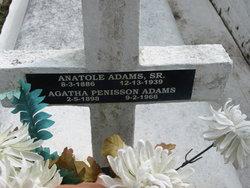 Agatha <I>Penisson</I> Adams