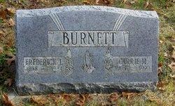 """Caroline May """"Carrie"""" <I>Newton</I> Burnett"""