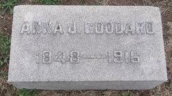Anna J <I>Jewett</I> Goddard