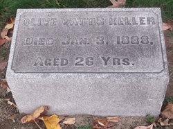 Olive <I>Watts</I> Keller