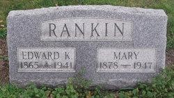 Mary <I>Vogt</I> Rankin