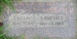 Lazaro C Sanchez