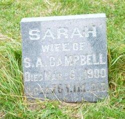 Sarah <I>Lugar</I> Campbell