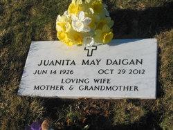 Juanita May <I>Spinney</I> Daigan