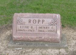 Ettie B <I>Tombridge</I> Ropp