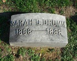 Sarah D. Drumm
