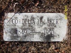 Cordelia A. <I>Howell</I> Baker