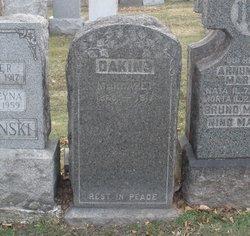 """Margaret V """"Maggie"""" <I>O'Touhill</I> Dakins"""