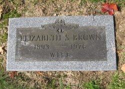 Elizabeth Sadie <I>Kantz</I> Brown