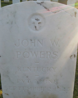 Pvt John W Powers