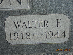 PFC Walter Francis Johnson