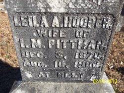 Leila A <I>Hooper</I> Pittman
