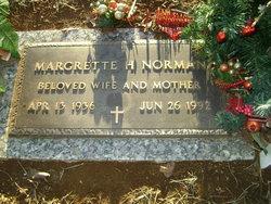Margrette Hellen <I>Morgan</I> Norman