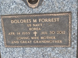 Dolores M <I>Linder</I> Forrest