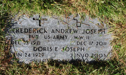 Frederick Andrew Joseph