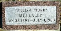 "William A. ""Bunk"" Mullally"