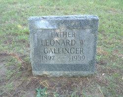 Leonard W Gallinger