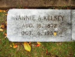 Nannie A. <I>Lee</I> Kelsey