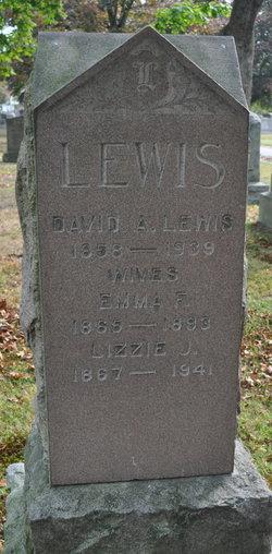 "Elizabeth J ""Lizzie"" <I>Harris</I> Lewis"