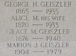 George H Geiszler