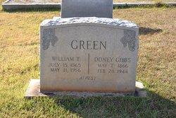 """Donia Mariah """"Doney"""" <I>Gibbs</I> Green"""
