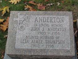 Leta Aimee <I>Thompson</I> Anderton