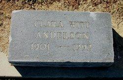 Clara Beattie <I>Witt</I> Anderson