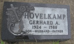 "Gerhard A. ""Jerry"" Hovelkamp"