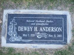 Dewey H Anderson