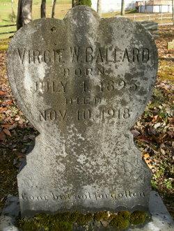 Virgie W. <I>Mabe</I> Ballard