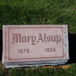 Mary E. <I>Test</I> Alsup