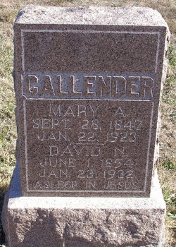 Mary A. Callender