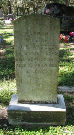 Hannah <I>Strickler</I> Arnold