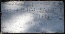 Don Pershing Mahan, Jr