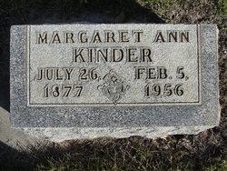 Margaret Ann Kinder