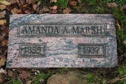 Amanda Amelia <I>McClure</I> Marsh