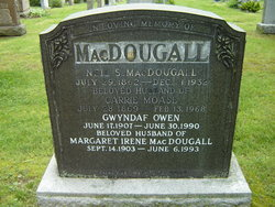 Carrie <I>Moase</I> MacDougall