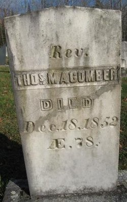 Rev Thomas Macomber